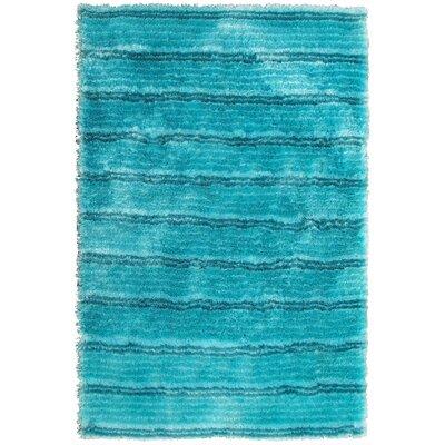 Mirage Turquoise Area Rug Rug Size: 4 x 6