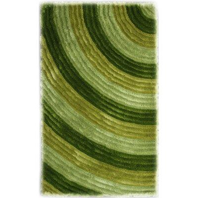 Bristol Green Shag Area Rug Rug Size: 5 x 8