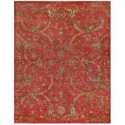Legacy Red Area Rug Rug Size: 10 x 14