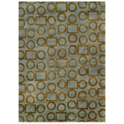 Legacy Gray/Gold Shag Area Rug Rug Size: 10 x 14