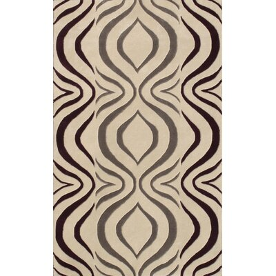 Cologne Gray Area Rug Rug Size: 5 x 76