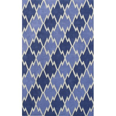 Cologne Blue Area Rug Rug Size: 79 x 106