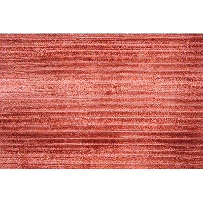 Silicon Hand Woven Burgundy Area Rug Rug Size: 9 x 12