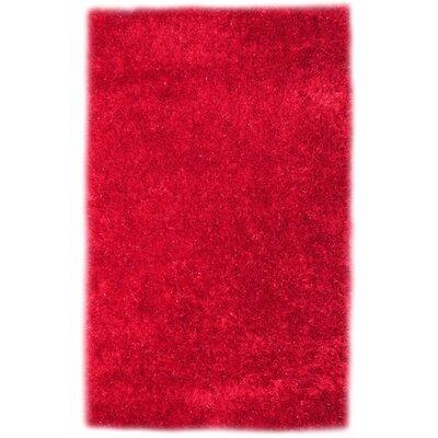 Codimuba Red Area Rug Rug Size: 8 x 11