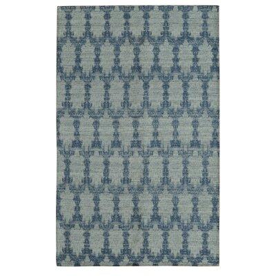 Electra Sky Blue Area Rug Rug Size: 79 x 106
