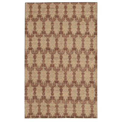 Electra Brown Area Rug Rug Size: 5 x 76