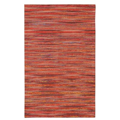 Lazzarro Red Area Rug Rug Size: 5 x 76
