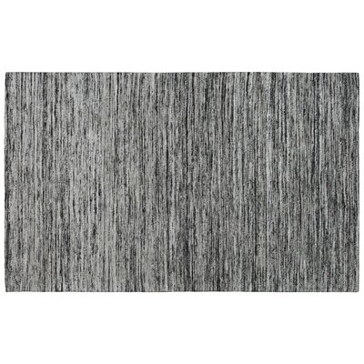 Rainbow Black Area Rug Rug Size: 8 x 11