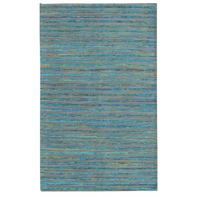 Lazzarro Turquoise Area Rug Rug Size: 5 x 76
