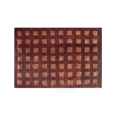 Pico Red Area Rug Rug Size: 4 x 6