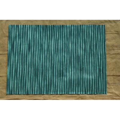 Marval Teal Blue Area Rug Rug Size: 79 x 106