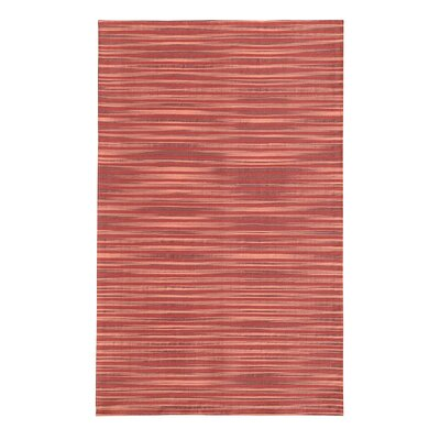 Marval Red Area Rug Rug Size: 79 x 106