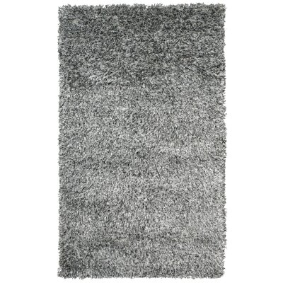 Sheen Ivory / Black Area Rug Rug Size: 5 x 8