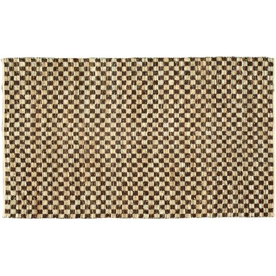 Coster Coffee Area Rug Rug Size: 4 x 6