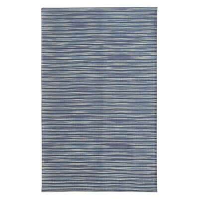 Marval Blue Area Rug Rug Size: 5 x 76