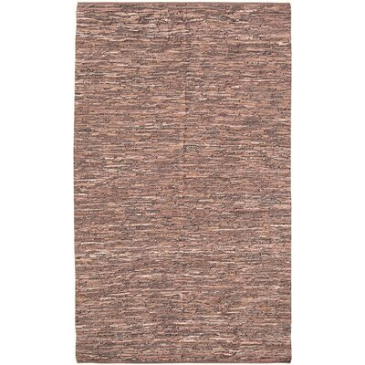 Pico Dark Brown Area Rug Rug Size: 5 x 8