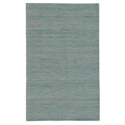 Dior Blue Area Rug Rug Size: 79 x 106