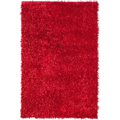 Sara Red Rug Rug Size: Rectangle 8 x 11