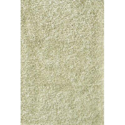 Sara Silver Shag Area Rug Rug Size: 8 x 11