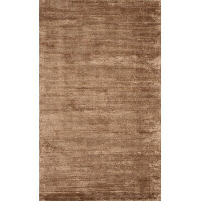 Silicon B Dark Brown Area Rug Rug Size: 10 x 14
