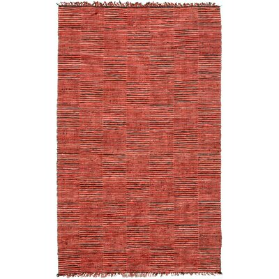 Vista Red Area Rug Rug Size: 4 x 6