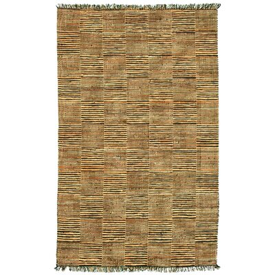 Vista Coffee / Beige Area Rug Rug Size: 8 x 11