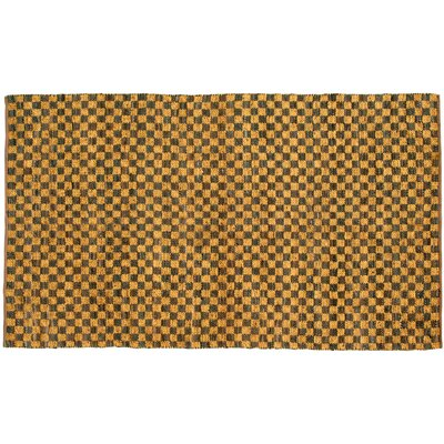 Coster Gold Area Rug Rug Size: 4 x 6