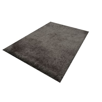 Milan Gray Area Rug Rug Size: 79 x 99