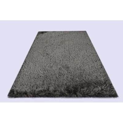 Milan Charcoal Area Rug Rug Size: 5 x 7