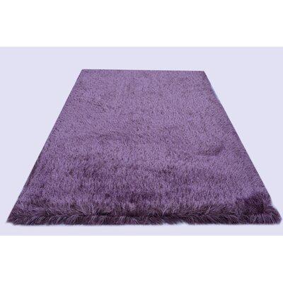 Milan Purple Area Rug Rug Size: 79 x 99