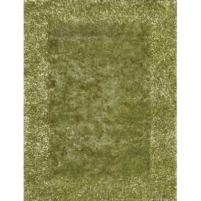 Tania Green Area Rug Rug Size: 8 x 11