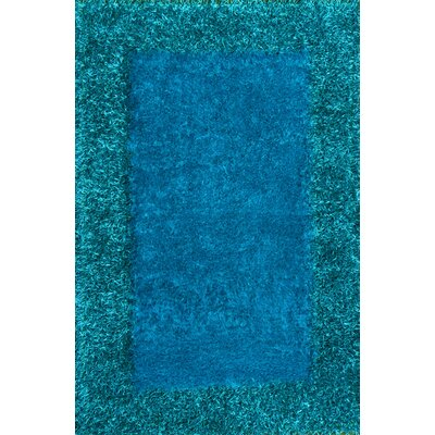Tania Turquoise Area Rug Rug Size: 5 x 8