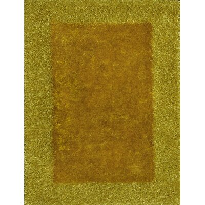 Tania Yellow Area Rug Rug Size: 5 x 8