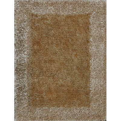 Tania Beige Area Rug Rug Size: 5 x 8