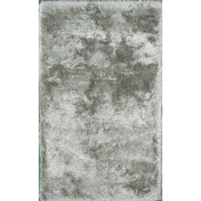 Crystal Silver Area Rug Rug Size: 4 x 6