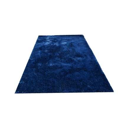 Ales Royal Blue Area Rug Rug Size: 5 x 7