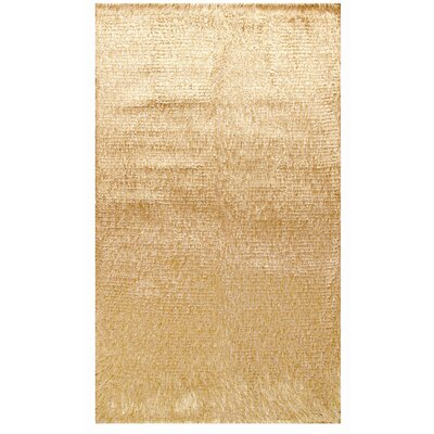 Crystal Multi Gold Rug Rug Size: 36 x 56