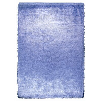 Crystal Multi Blue Rug Rug Size: 36 x 56