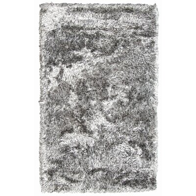 Crystal Multi White/Black Rug Rug Size: Rectangle 4 x 6