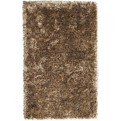 Crystal Multi Camel/Coffee Rug Rug Size: Rectangle 4 x 6