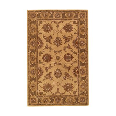 Imperial Beige/Gold Area Rug Rug Size: 8 x 11