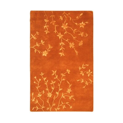 Florence Rust Area Rug Rug Size: 5 x 8