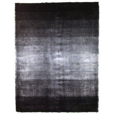 Jewel Grey Rug Rug Size: 4 x 6