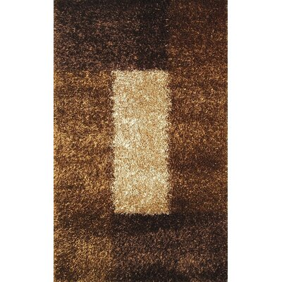 Pearl Cola/Camel Rug Rug Size: 8 x 11