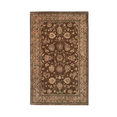 Vintage Brown/Camel Rug Rug Size: 5 x 8