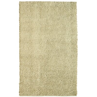 Spectra White Rug Rug Size: 36 x 56