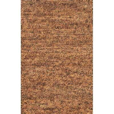 Eyeball Brown Area Rug Rug Size: 8 x 11