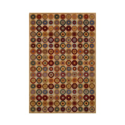 Noble Beige Area Rug Rug Size: 6 x 9