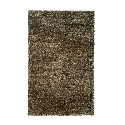 Marina Dark Brown Area Rug Rug Size: 5 x 8