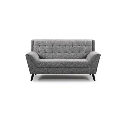 Adore Loveseat Upholstery: Gray
